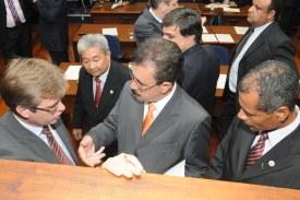 Na primeira reunião, Câmara mantém três vetos do Executivo