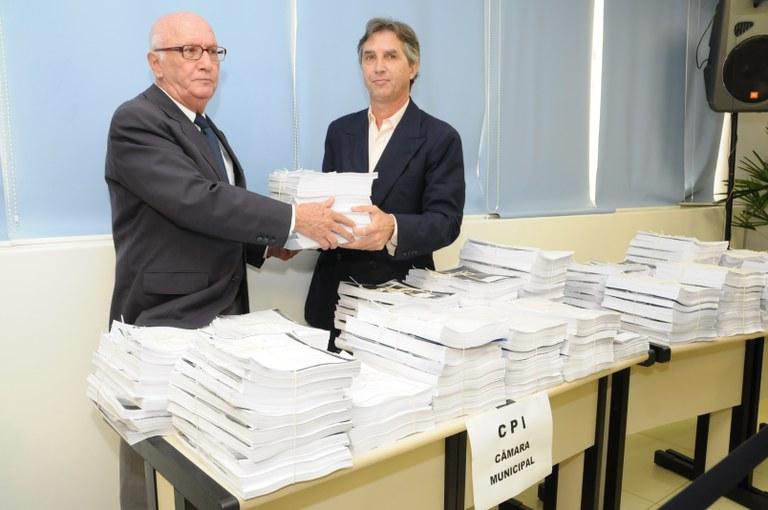 CPI das Licitações recebe relatório da Sanasa