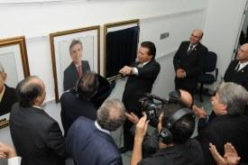 Galeria de ex-presidentes ganha dois novos quadros