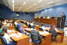 Mulher vai presidir Parlamento Jovem pelo 2º ano consecutivo