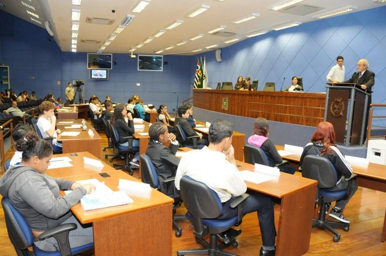 Parlamento Jovem realiza 1ª Reunião Ordinária