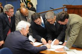 Pauta da reunião de 2ª feira (29/11) da Câmara