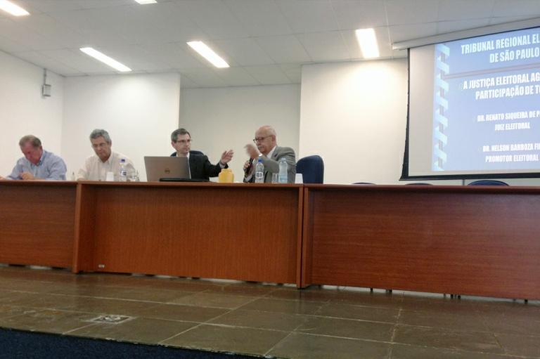 TV Câmara participa de reunião com Justiça Eleitoral sobre determinações envolvendo Horário Eleitoral Gratuito, que se inicia no próximo dia 26 de agosto