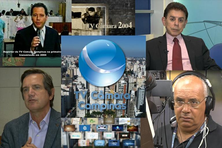 De 2004 aos dias de hoje: documentário sobre a TV Câmara Campinas vai ao ar neste dia 11 de agosto, Dia da Televisão, com reprise no domingo
