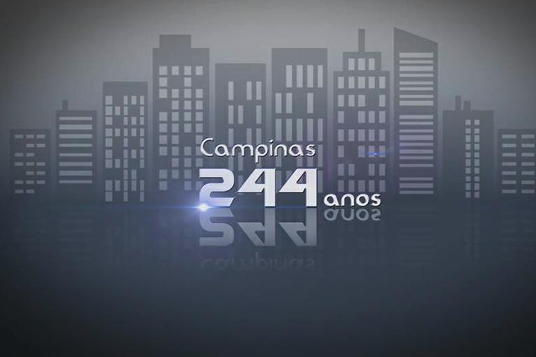 Aniversário de Campinas: TV Câmara tem programação especial em homenagem aos 244 anos da cidade