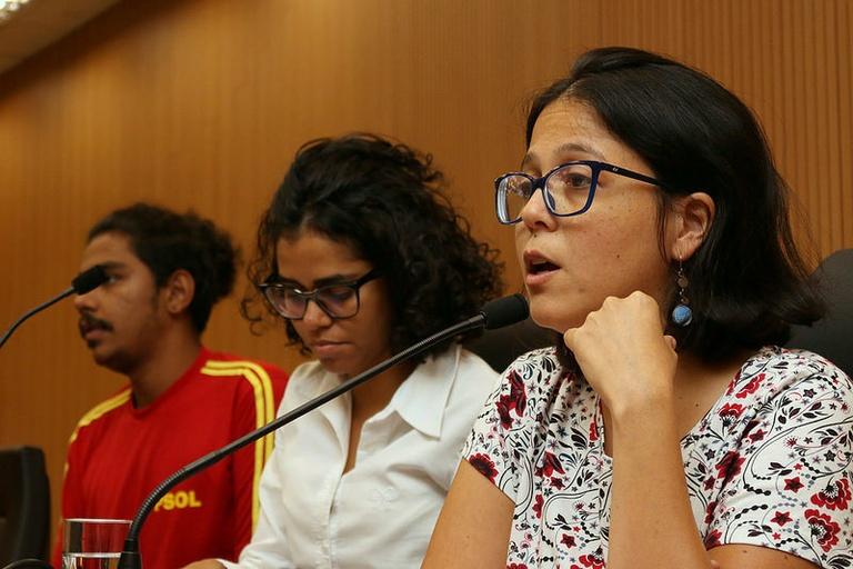 Luta pela eliminação da discriminação racial e o genocídio da população negra foi tema de primeira parte de quarta, realizada em memória da vereadora Marielle Franco
