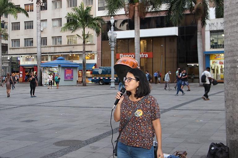 Mariana Conti promove aula aberta, no Centro, sobre Reforma da Previdência