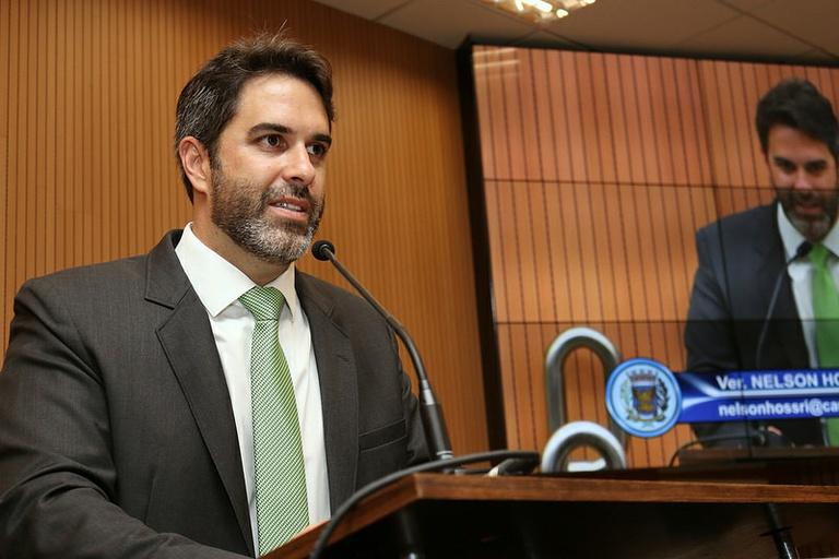 Nelson Hossri protocola projeto obrigando a Prefeitura resolver os problemas relacionados às drogas na cidade